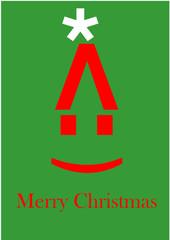 Weihnachtssymbolkarte