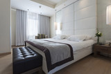 Interior of a modern bedroom  - 72324173