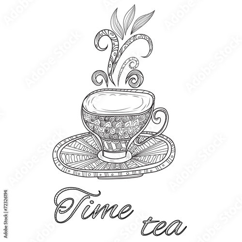 Tea party vintage background © natali_ka