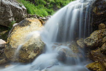 waterfalls of the Ruzzo torrent