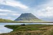 The famous mountain Kirkjufell in Iceland