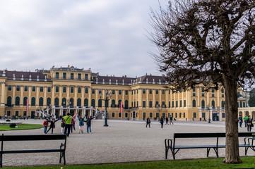 Schonbrunn entrance