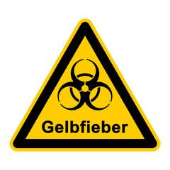 wso78 WarnSchildOrange - Symbol Biogefährdung Gelbfieber - g2360