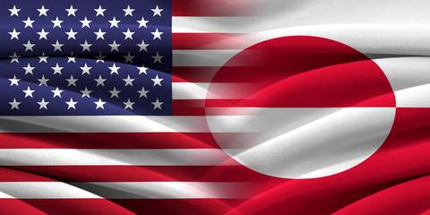 USA and Greenland.