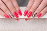 Fototapety Manicure close up