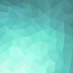 Background of turquoise rhombs
