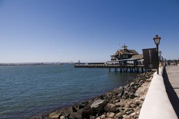 Sea village in San Diego