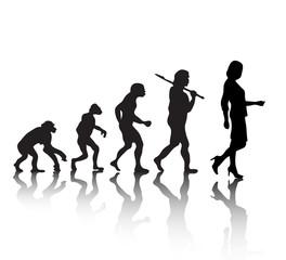evolution   woman