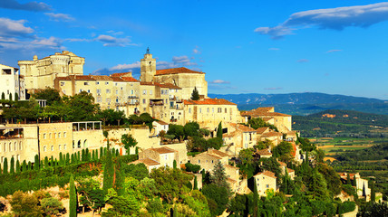 Gordes- medieval village in Provence, France