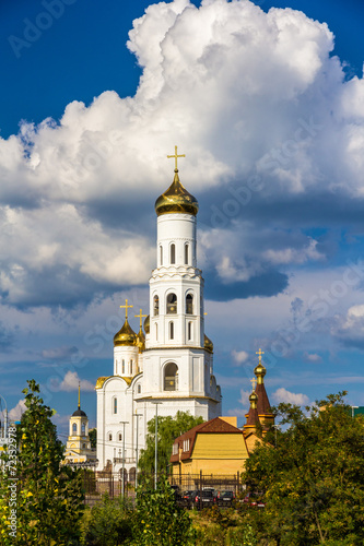 Papiers peints Europe de l Est Holy Trinity cathedral of Bryansk, Russia