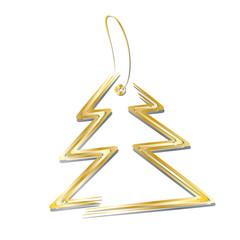 Weihnachten Anhänger - Weihnachtsbaum