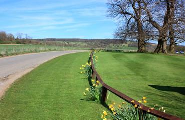 The Kent countryside at Ashford
