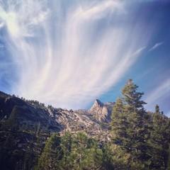 Mountainscape near Lake Tahoe, USA