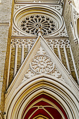 Detail of St. Mary's Cathedral in Novi Sad 1