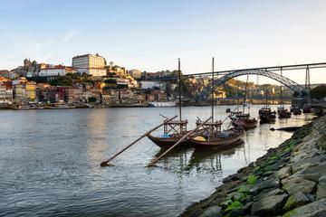 Cidade do porto e o seu Rio Douro