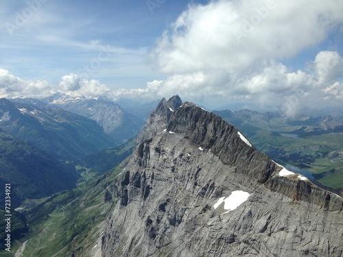 canvas print picture Schweizer Berge