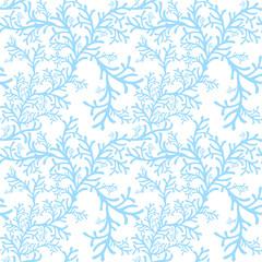 vector frosty pattern on window, winter