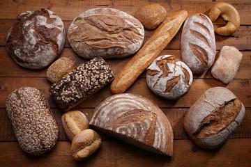 Verschieden Brote