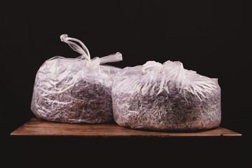 Two bag of shreddded paper
