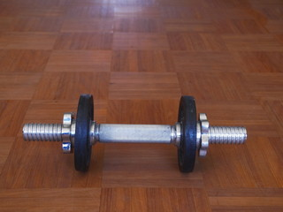 dumbbell metal