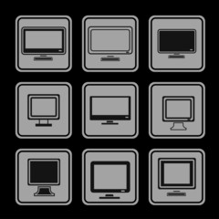 Monitor icons