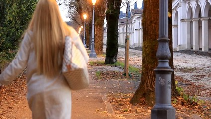 Passeggiando in autunno