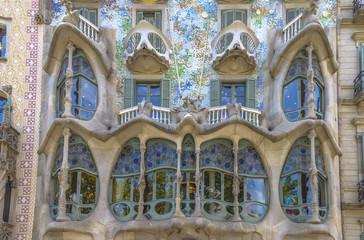 Casa Batllo, Eixample District, Barcelona, Spain