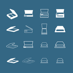 Scan icons