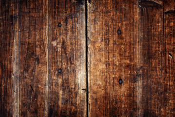 Textured Wooden Plank Vintage Background