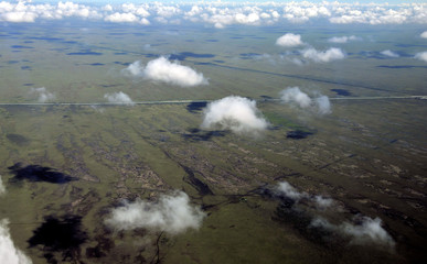 Clouds on the Glades