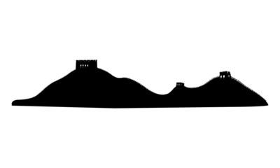 万里の長城 世界の建築物