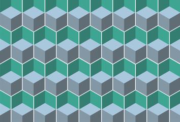 cube pattern diagonal vector design