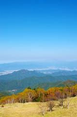 秋の美ヶ原高原