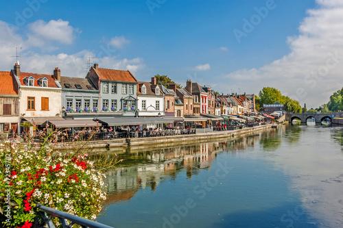 canvas print picture Amiens- Quartier Saint Leu