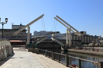 神戸ハーバーランドのはね橋