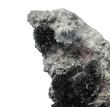 Crystal marmatit  with tiny needles