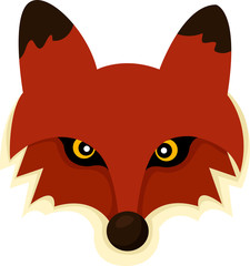 Illustrator of Fox face