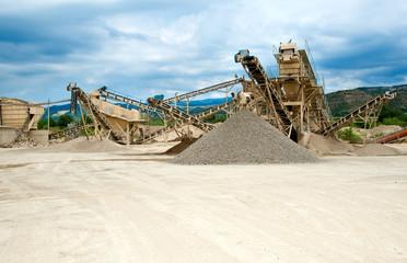 processing plant stones