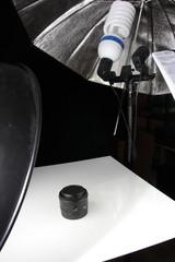 Studio photo avec ampoule daylight