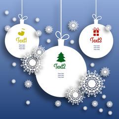Infographie éléments vecteur template christmas
