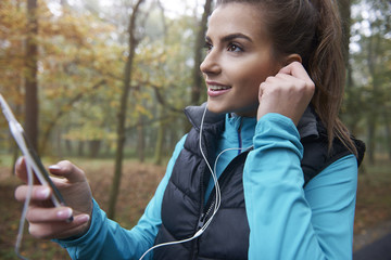 Good music during the jogging is very important
