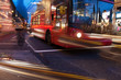 Obrazy na płótnie, fototapety, zdjęcia, fotoobrazy drukowane : Evening in Oxford street, London, UK.
