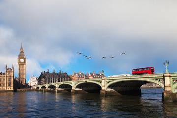 Westminster bridge, London, United Kingdom.