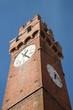 canvas print picture - Turm mit Zeit