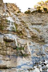 waterfall uchan-su in Crimea