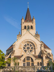 Basel, Stadt, historische Kirche, Paulus, Neubad, Schweiz