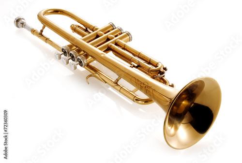 old trumpet - 72360309