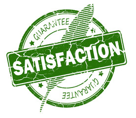 satisfaction stamp