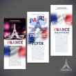 geometric flag of France sketch picture paris The Eiffel Tower