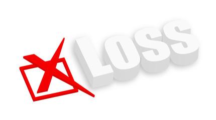 3d Loss Text